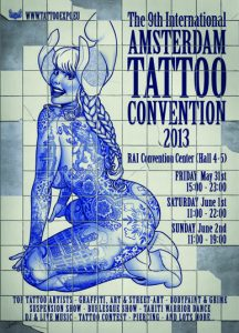 Int. Tattoo Convention Amsterdam (NL)