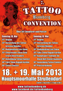 Int. Tattoo Convention Bamberg (D)