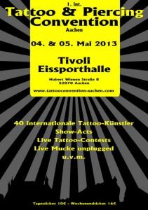 Tattoo & Piercing Convention Aachen (D)